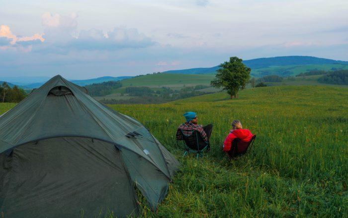 Camping Med Telt